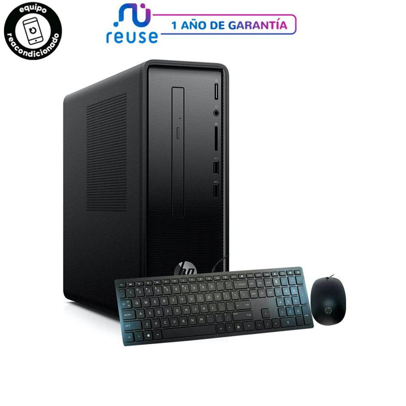 HP DESKTOP SLIMLINE 290-p0046 /  i3-8100 / 8GB RAM / 1TB REACONDICIONADO