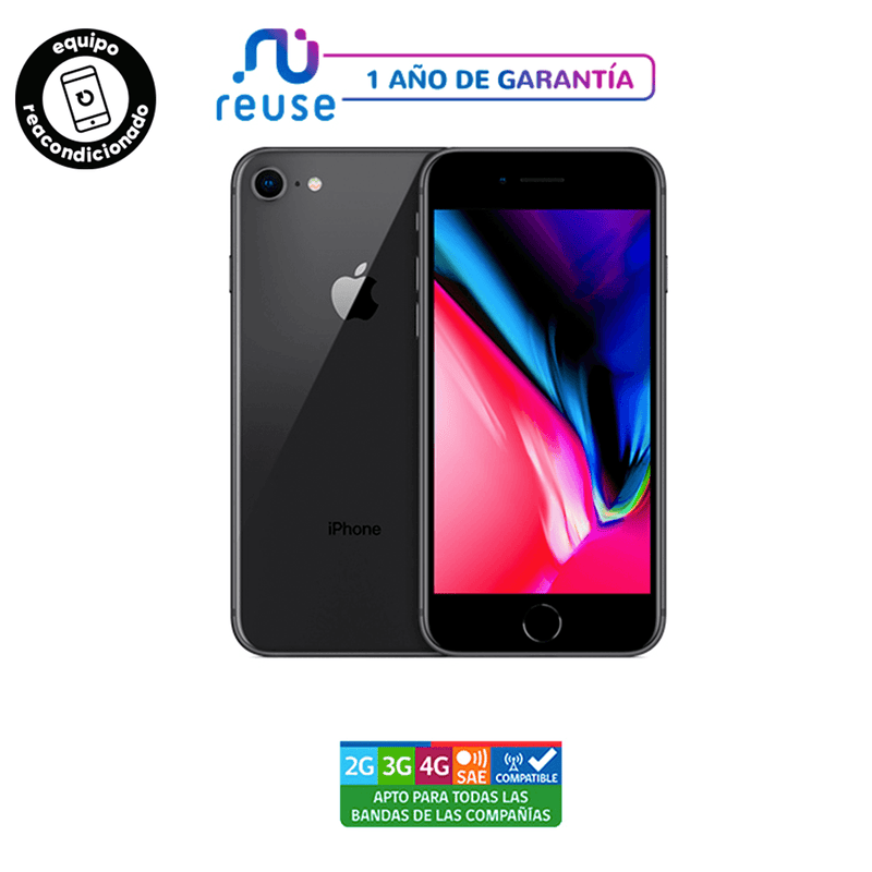 Apple iPhone 8 256GB Gris Espacial