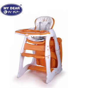 My Dear 3 in 1 Baby High Chair 31083 For Feeding and Can Convert Into A Table and Chair Combination