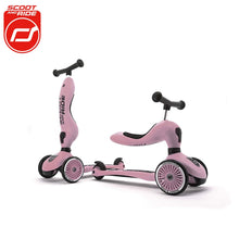 Load image into Gallery viewer, Scoot and Ride Highwaykick 1 Scooter and Ride On Toy For Toddler From 1 to 5 Years Old