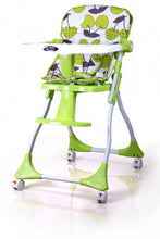 Load image into Gallery viewer, My Dear Baby High Chair 31061 With Stopper Wheels, Compact folded