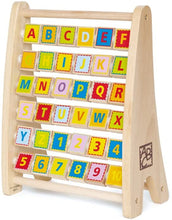 Load image into Gallery viewer, Hape Alphabet Abacus Wooden Toy For Baby and Toddler