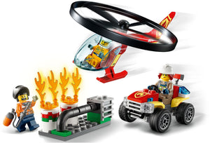 Lego City Fire Helicopter Response 60248 Firefighter Toys, Fun Building Set for Kids