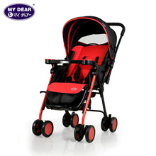 Load image into Gallery viewer, My Dear Baby Stroller 18063 With Reversible Handle and Detachable Tray