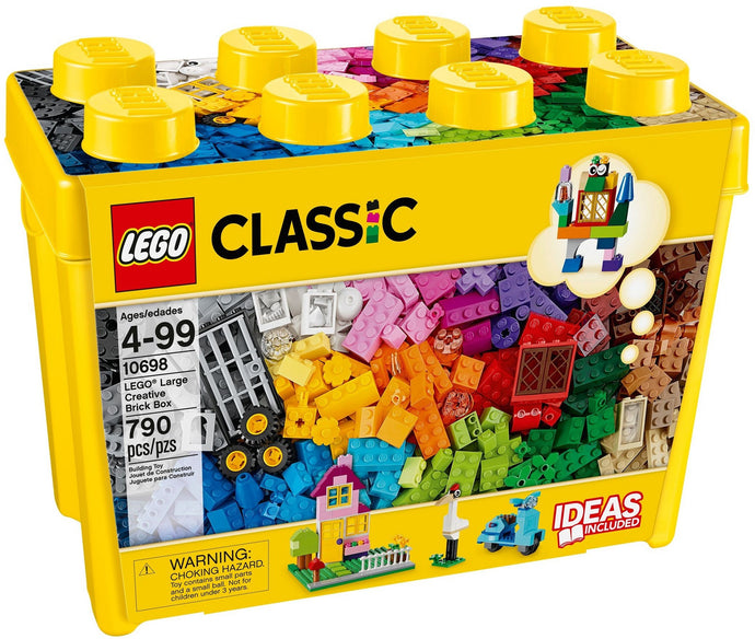 Lego 10698 Large Classic Creative Bricks Box Learning Toy for Children