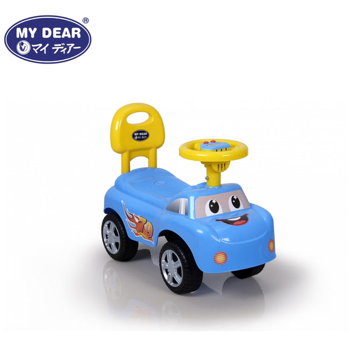 My Dear 23073 Ride On Toy Car With Battery Operated Music & Horn