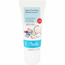 Load image into Gallery viewer, Buds Soothing Organics Super Soothing Rescue Lotion 50ml, Soothes & Repairs Dry, Sensitive & Irritated Skin (Expiry: 09/2022)