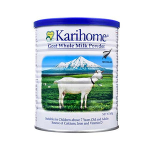 Karihome Goat Whole Milk Powder 400g For Children 7 Years Old Above and Adults