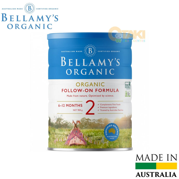Bellamy's Organic EQUIFINA Follow-Up Formula (Step 2) 900g