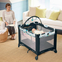 Load image into Gallery viewer, Graco Pack N Play Base Folding Feet For Newborn Baby (Stratus)