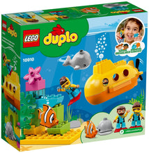 Load image into Gallery viewer, Lego Duplo Town Submarine Adventure 10910 Building Kit