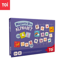 Load image into Gallery viewer, Toi World Magnetic Toy Box, Family Bonding Game, Develops Child's Imagination and Constructive Skills (Alphabets)