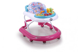My Dear Baby Walker 20086 With Detachable Music Tray and 3 Adjustable Height Levels