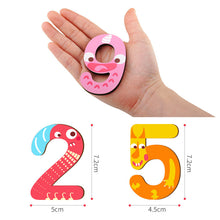 Load image into Gallery viewer, Toi World Monster Number 1 to 9 Puzzle Cognitive Development Wooden Toy