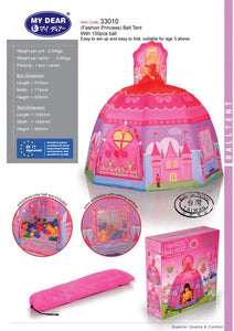 My Dear Princess Design Ball Tent 33010 With 100 Balls Included