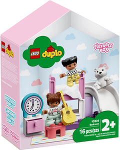Lego Duplo Town Bedroom 10926 Kids' Pretend Play Set, Developmental Toddler Toy, Great for Kids' Learning and Play