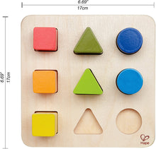 Load image into Gallery viewer, Hape Color and Shape Sorter Wooden Toy