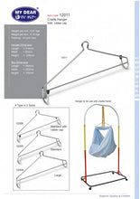 Load image into Gallery viewer, My Dear Baby Cradle Buaian Spring Cot Large Hanger 12011 With Rubber Cap