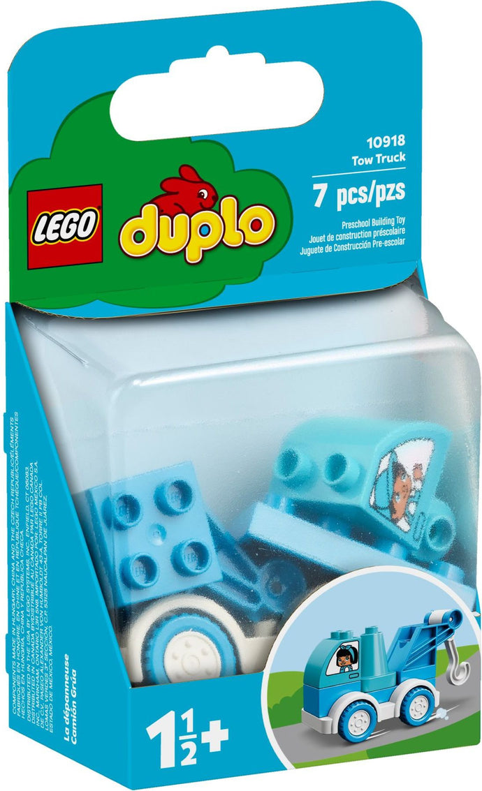 Lego Duplo 10918 My First Tow Truck Educational Tow Truck Toy, Suitable For 1.5 Years and Above Toddlers