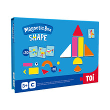 Load image into Gallery viewer, Toi World Magnetic Toy Box, Family Bonding Game, Develops Child's Imagination and Constructive Skills (Shapes Design)