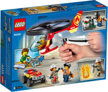 Load image into Gallery viewer, Lego City Fire Helicopter Response 60248 Firefighter Toys, Fun Building Set for Kids