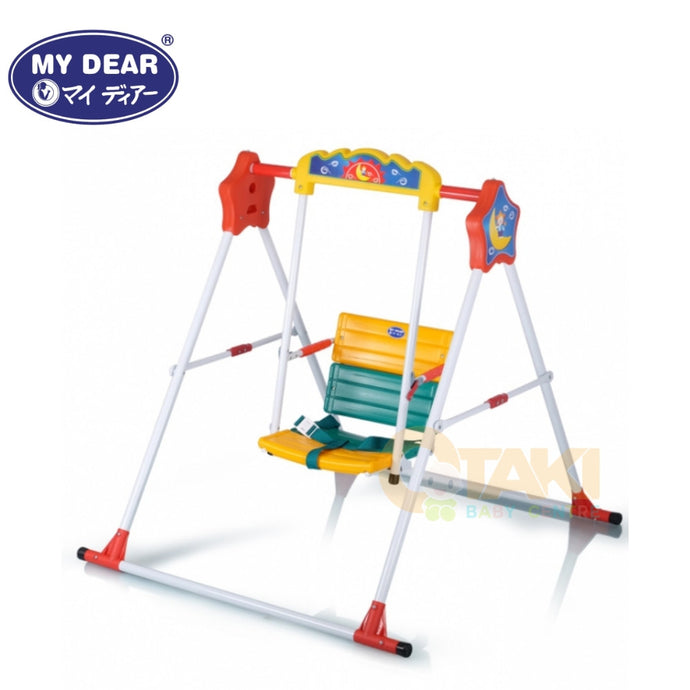 My Dear Play Swing with Safety Belt and Lock 29012