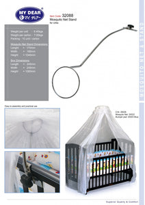My Dear Mosquito Net Stand 32088 For All Wooden Baby Cots
