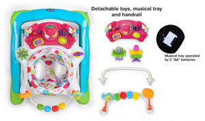 My Dear Baby Walker 20124 With Detachable Toys and Rotatable Seat