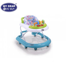 Load image into Gallery viewer, My Dear Baby Walker 20086 With Detachable Music Tray and 3 Adjustable Height Levels