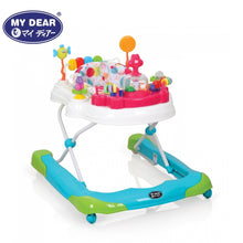 Load image into Gallery viewer, My Dear Baby Walker 20124 With Detachable Toys and Rotatable Seat