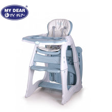 Load image into Gallery viewer, My Dear 3 in 1 Baby High Chair 31083 For Feeding and Can Convert Into A Table and Chair Combination