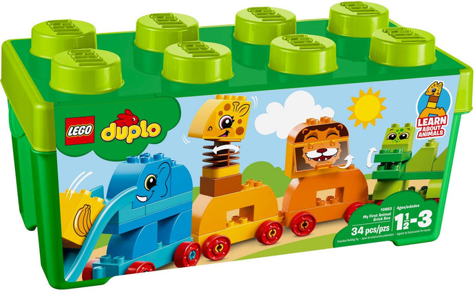 Lego Duplo My First Animal Brick Box 10863 Building Blocks