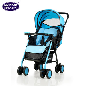 My Dear Baby Stroller 18063 With Reversible Handle and Detachable Tray