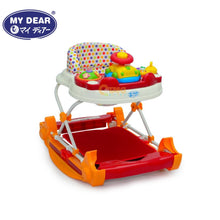 Load image into Gallery viewer, My Dear 20082 Baby Walker with Rocking Function & Music Tray