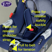 Load image into Gallery viewer, My Dear Infant Baby Carrier / Infant Car Seat 28040