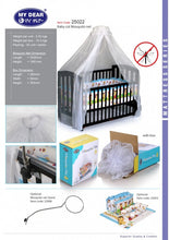 Load image into Gallery viewer, My Dear Mosquito Net 25022 For All Wooden Baby Cots