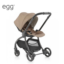 Load image into Gallery viewer, Egg Quail Stroller Latte On Chassis With Gold Back Panel