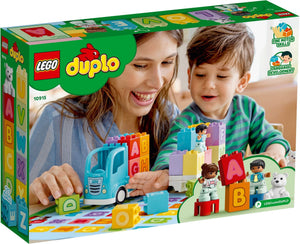 Lego Duplo 10915 My First Alphabet Truck Toy for Toddlers, Learning Letters Bricks, Preschool Education