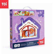 Load image into Gallery viewer, Toi World Educational 4 in 1 Puzzle Box Early Learning Toy Suitable For 3 Years and Above Children