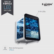 Load image into Gallery viewer, Haenim New Smart Classic Electric UV C LED Sterilizer (White Gold Color)