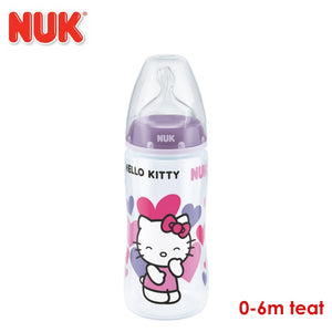 NUK Premium Choice Hello Kitty 300ml PP Bottle With 0-6 Months Teat
