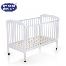 "Load image into Gallery viewer, My Dear Ramin Wooden Baby Cot 26063 Size 28"" x 52"""
