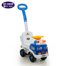 Load image into Gallery viewer, My Dear 23026 Ride On Toy Car with Music Operated Steering Wheel, Detachable Handle Bar & Rear Basket
