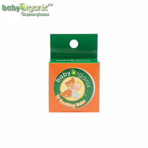 Baby Organix T3 Soothing Balm 20g Soothes and Relieves Dry Itching Skin, Mosquito After Bite Balm (Expiry: 08/2023)