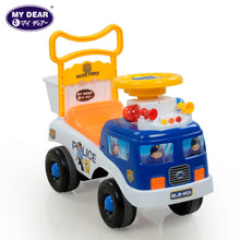 Load image into Gallery viewer, My Dear 23025 Ride On Toy Car with Music Operated Steering Wheel, Under Seat Storage Compartment & Rear Basket