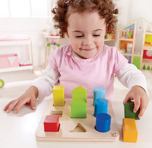 Hape Color and Shape Sorter Wooden Toy