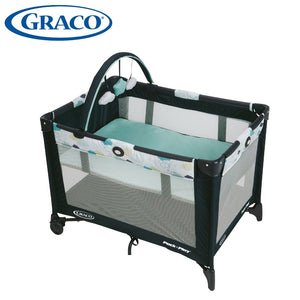 Graco Pack N Play Base Folding Feet For Newborn Baby (Stratus)