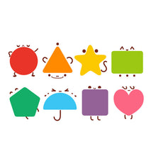 Load image into Gallery viewer, Toi World Fairy Shapes Puzzle Cognitive Development Wooden Toy