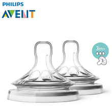 Load image into Gallery viewer, Philips Avent Natural Range Baby Bottle Teats / Nipples (2 Units Per Pack)