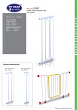 Load image into Gallery viewer, My Dear Safety Gate Extension 27cm Suitable For Safety Gate Model 32002
